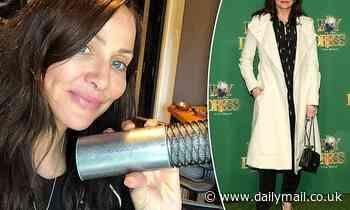 Natalie Imbruglia hits the studio to finish recording her new album