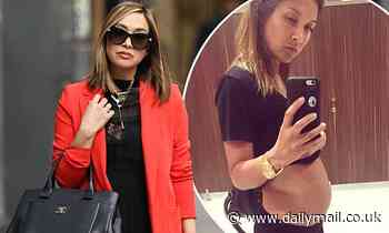 Myleene Klass seen for first time since talking about miscarriages