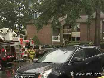 Four people transported to hospital after fire at Raleigh apartment complex