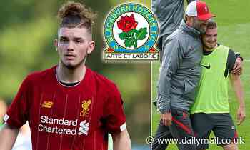 Liverpool 'considering allowing Harvey Elliott to leave on loan after approach from Blackburn'