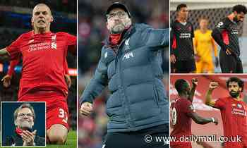 Klopp has never lost two Premier League games in a row - how have his side responded to defeat?