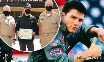 Tom Cruise and Jerry Bruckheimer become Honorary Naval Aviators for 'positive impact' on the US Navy