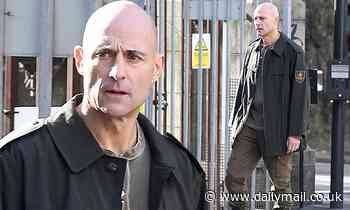 Mark Strong transforms into solemn-faced surgeon as he returns to film Sky One's Temple series 2