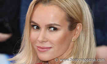 Amanda Holden films her mammogram for incredible cause