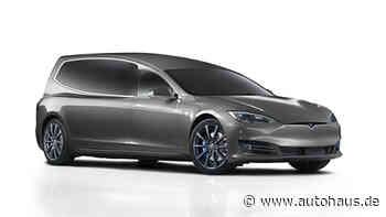 Tesla-Leichenwagen von Binz: Emissionsfrei auf die letzte Reise - Autohaus