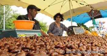 Martigues : le marché de la châtaigne au jardin de Ferrières - La Provence