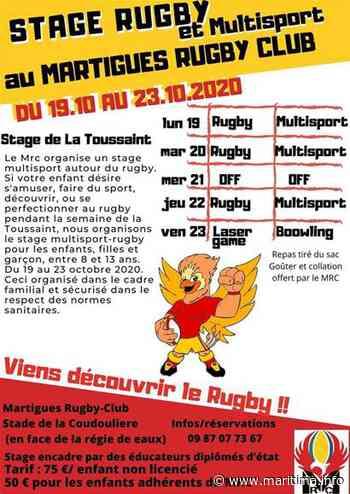 Martigues - Sports - Le Martigues Rugby Club organise un stage multisports pendant les vacances - Maritima.info