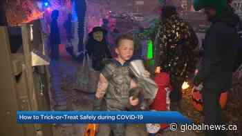 How to trick-or-treat safely amid COVID-19