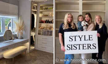 Inside the Style Sisters' amazing celebrity home transformations - from Vogue Williams to Rochelle Humes