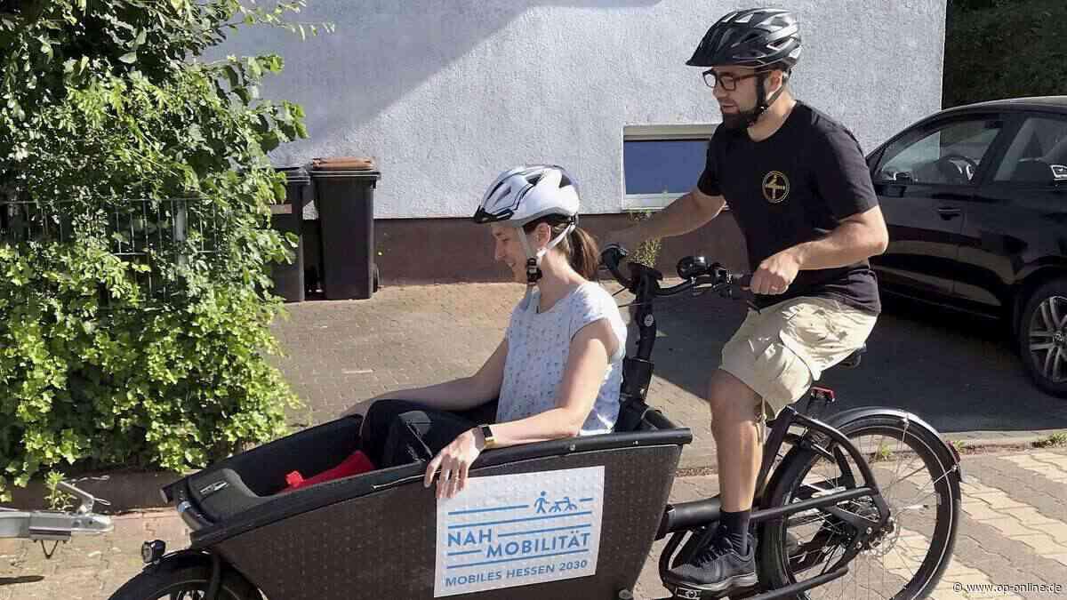 Dreieich testet Lastenräder: Nachfrage größer als Angebot - op-online.de