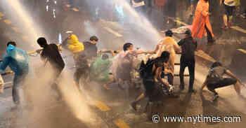 Thailand Steps Up Response as Antigovernment Protests Escalate