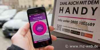 Handy-Parken in Quedlinburg: Im Welterbe soll das Parken bald mit dem Telefon möglich sein. - Mitteldeutsche Zeitung
