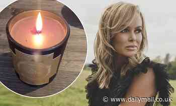 Amanda Holden lights candle to remember stillborn son Theo as she marks Baby Loss Awareness Week