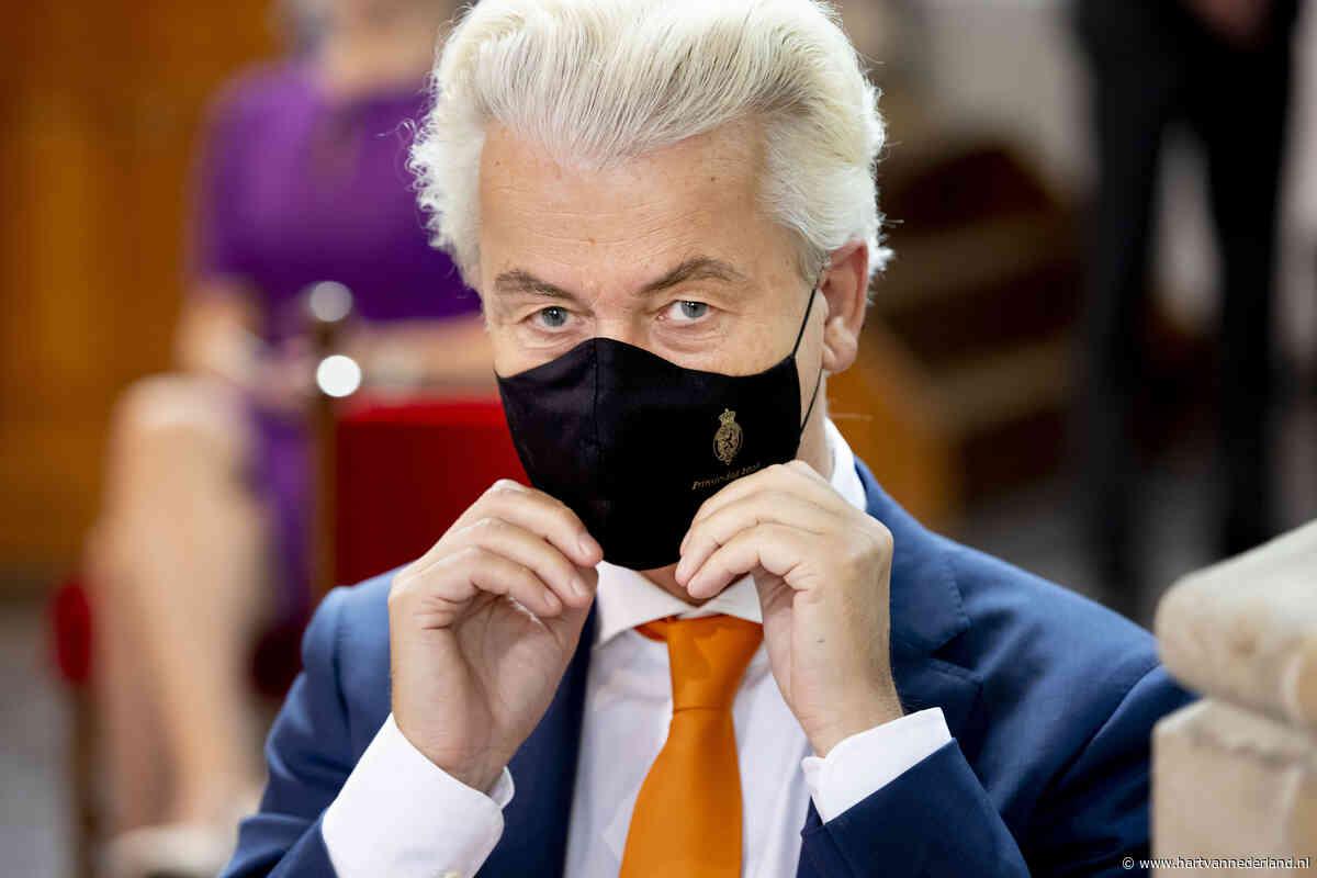 PVV-leider Geert Wilders in quarantaine, beveiliger heeft corona - Hartvannederland.nl