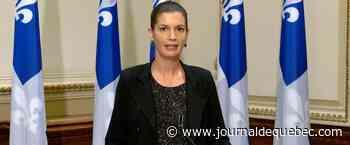 Geneviève Guilbault demande à une commission d'étudier la possibilité de destituer le chef de la SQ