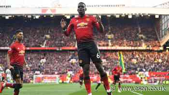Man United sign Pogba to contract extension