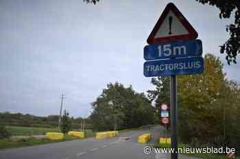 Tractorsluis in Bergelen wordt permanent