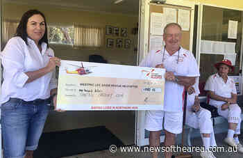 Sawtell Croquet Club Donates $1000To WestPac Helicopter – News Of The Area - News Of The Area