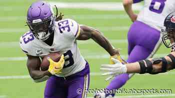 Dalvin Cook will not play against the Falcons