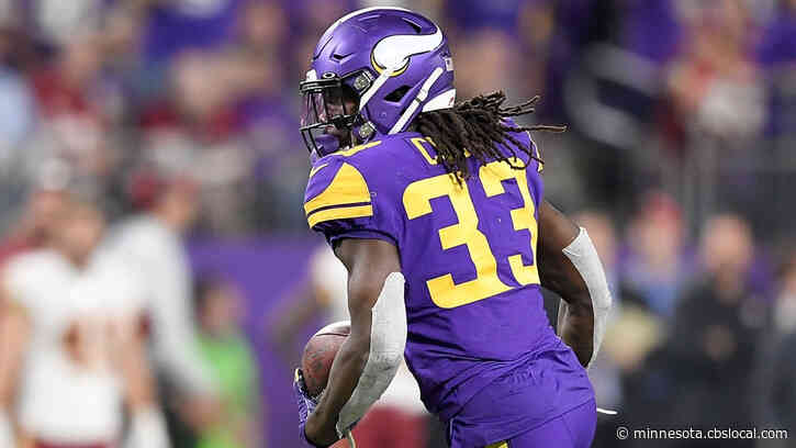 Vikings' Dalvin Cook Ruled Out For Sunday's Game Against Falcons