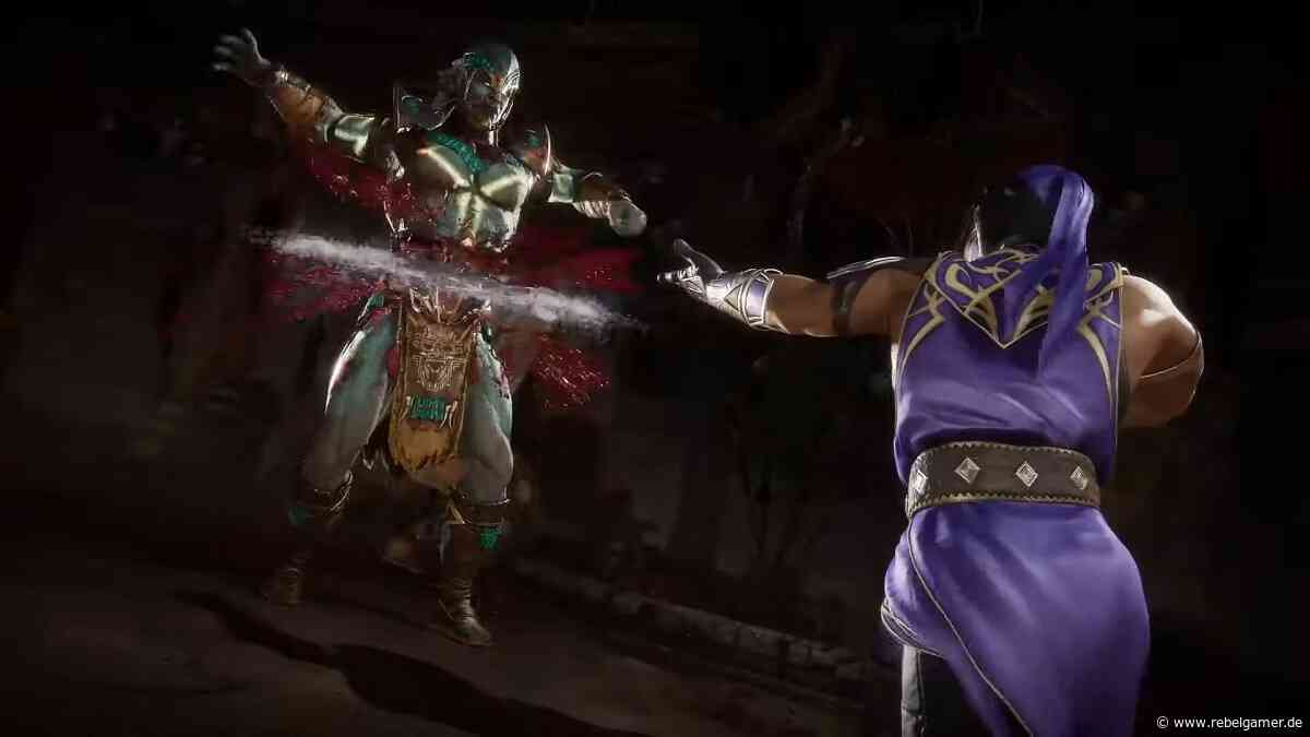 Mortal Kombat 11: Im neuen Gameplay-Trailer feiert Rain seine blutige Rückkehr - Rebelgamer.de