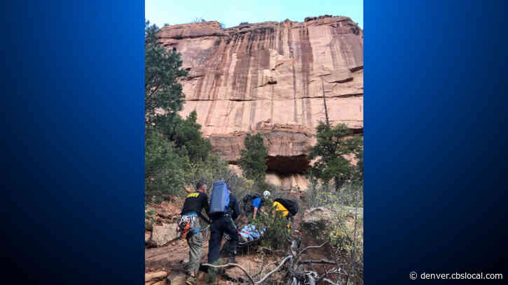 Hiker Rescued After Falling 40 Feet In Little Dominguez Canyon