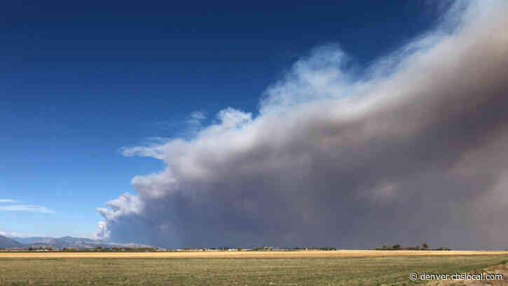 New High Wind Event Could Cause More Extreme Fire Behavior In Northern Colorado