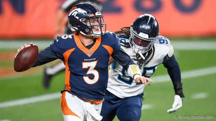 Drew Lock's Possible Return From Injury Could Spark Broncos Woeful Offense Against Patriots