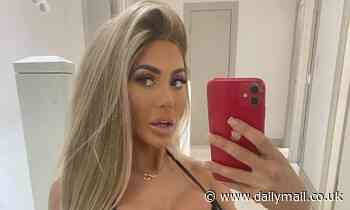 Chloe Ferry dons a black lace bodysuit for sizzling Instagram snap