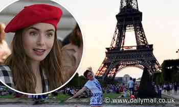 Lily Collins shares fun throwback snap before Emily in Paris