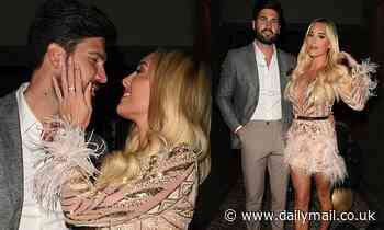 TOWIE's Amber Turner and Dan Edgar put on a romantic display at the series finale party