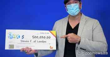 London man wins lottery: 'I live for my kids. This win is all about them'
