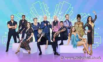 Strictly: Maisie Smith, Jamie Laing and Clara Amfo in group photos