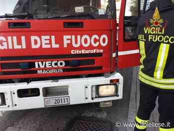 Gaglianico, in fiamme la motrice di un tir: danno per 10 mila euro - ilbiellese.it