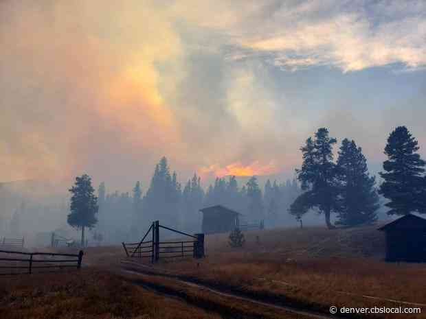 Portion Of Big Thompson Canyon Evacuated As Strong Winds Fuel Cameron Peak Fire