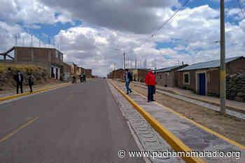 Plan COPESCO Nacional entregará obra en distrito de Atuncolla - Pachamama radio 850 AM