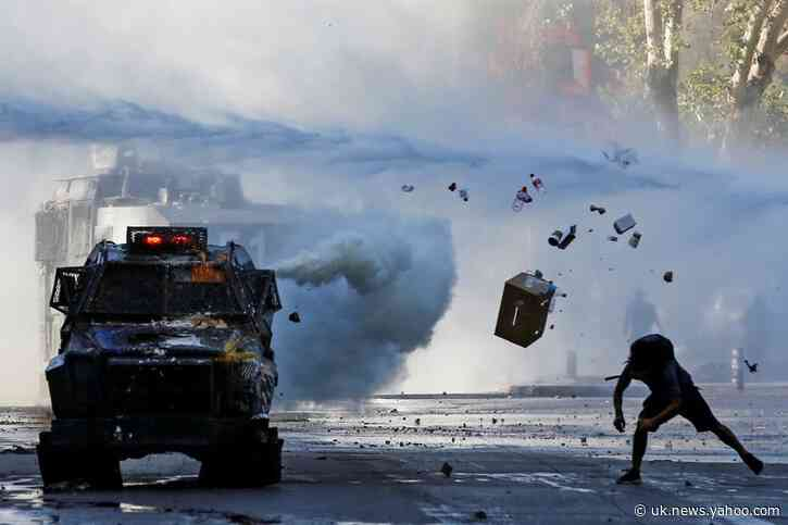 On anniversary of protests, Chileans brace for fresh demonstrations and violence