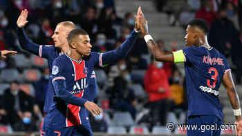 Nimes 0-4 Paris Saint-Germain: Mbappe at the double as champions go top
