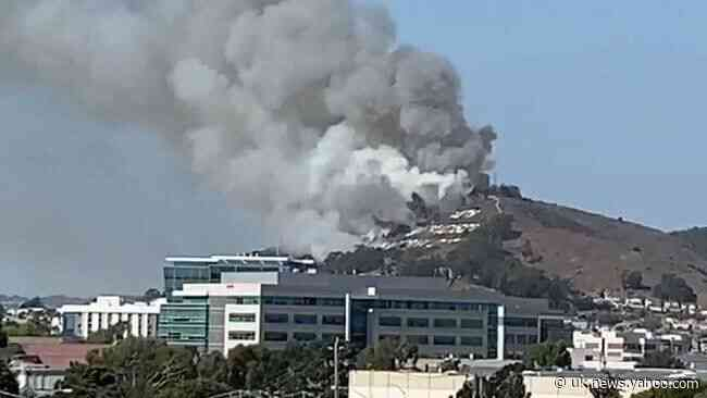 Fire in San Francisco's Sign Hill Area Prompts Evacuations