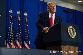 'Lock him up': Trump chuckles as Florida rally crowd calls for Hunter Biden's imprisonment
