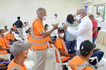 Obras Públicas sumó más de 300 nuevos empleos directos en María Trinidad Sánchez - El Caribe