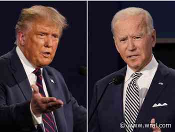 President Trump, Joe Biden will campaign again in North Carolina next week