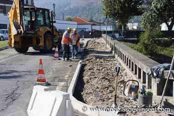 Mesão Frio: reabilitação da Avenida Dr. Domingos Monteiro e envolvente em curso - Notícias de Vila Real