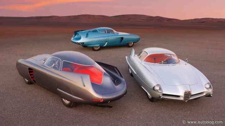 Trio of B.A.T. Alfas, some of the world's most famous concept cars, are up for auction
