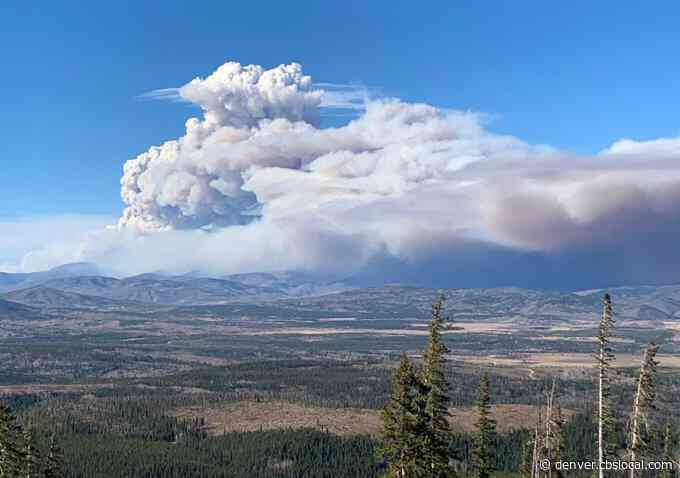 East Troublesome Fire Fueled By Strong Winds, Dry Conditions Near Kremmling