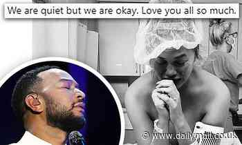 Chrissy Teigen breaks silence after family loss: 'We are quiet but we are okay'
