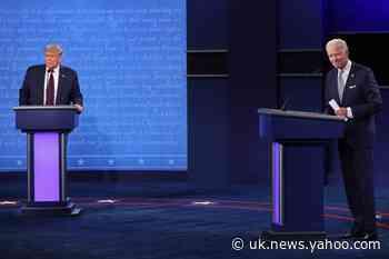 Presidential debate: When is the final 2020 election showdown?