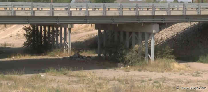 Homeless living in creek bed near Roswell told to leave