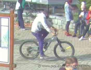 Whistler police looking to identify bike-theft suspect - Pique Newsmagazine