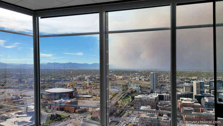 Huge Plume Of Wildfire Smoke Blows Into Denver